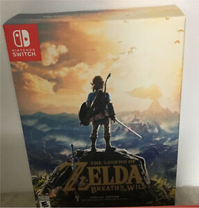***Price Reduced*** Special Edition Zelda Breath of the Wild