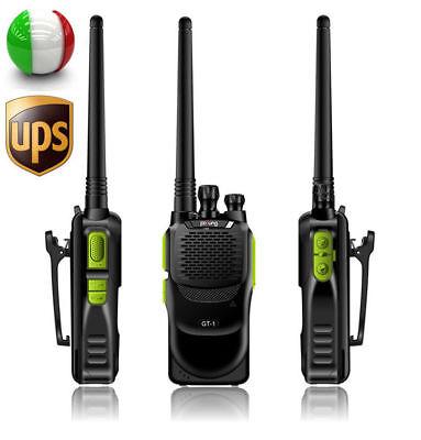 Baofeng GT-1 UHF 400-470MHz Walkie Talkie Ricetrasmittente+1500mAh batteria UPS