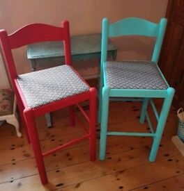 💖 Upcycled Stools