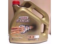 5W 30 Castrol Edge Fully Synthetic Engine Oil For Mercedes / Audi / VW / BMW