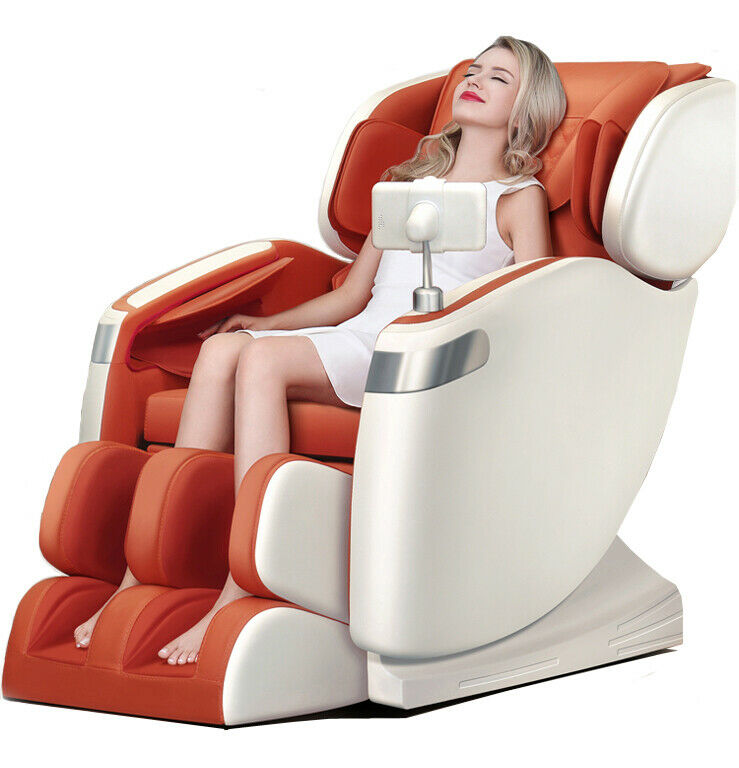 New Full Body Electric Massage Chair Recliner Heating Foot R