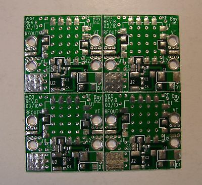Develop Pcb For Vco In 0.5x0.5 Standard Package Qty.4
