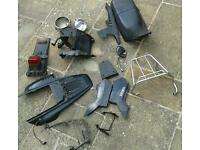Yamaha tw 125 tw125 parts air box airbox fairings lights seat mirror frame chain and more