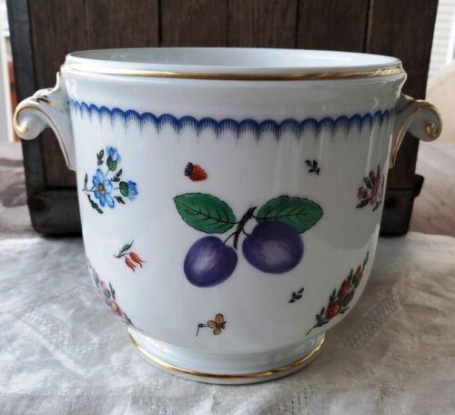 Richard Ginori Italian Fruits and Flowers Cachepot Planter