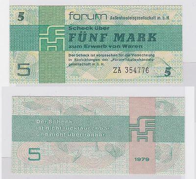 5 Mark DDR Banknoten Forum Scheck 1979 Ersatznote RAR (117361)