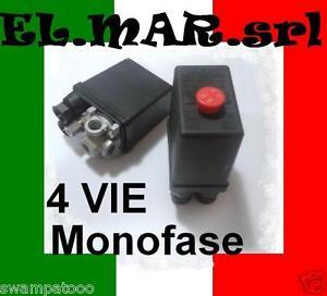 Pressostato-Compressore-Monofase-4-vie-12-BAR-max