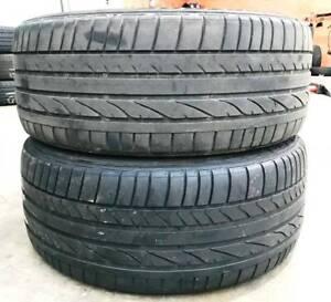 245 45 R18 Bridgestone RE050A Used Tyre Commodore Statesman BMW Vermont Whitehorse Area Preview