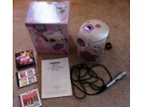 Goodmans girls Karaoke system + 3 CD's