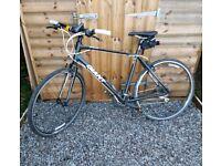 Large Black Giant Hybrid Bicycle