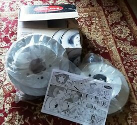 Pair of Rear Delphi Break Discs for Citroen