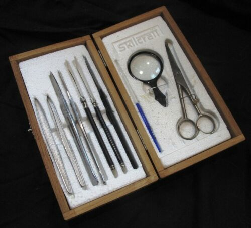 Vintage Skilcraft Surgical Kit Emergency Prepper Survival Taxidermy Dissection