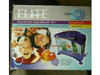 Elite Cool 14 Goldfish Aquarium