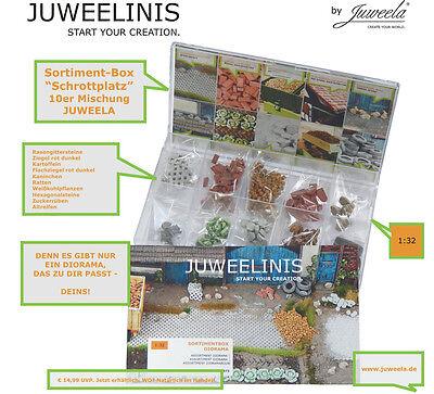 Spur 1 Juweelinis Sortiment-Box 1:32 Keramik Juweela 23373 Neu!!