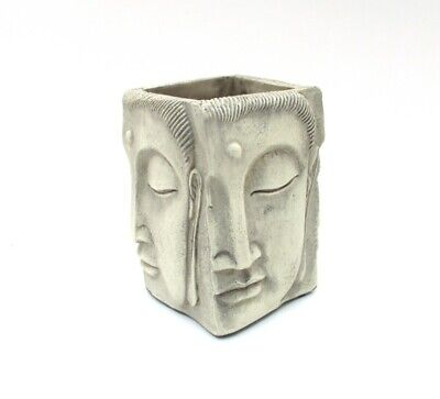 Four Face Buddha Pencil Pen Holder ~ New in Box