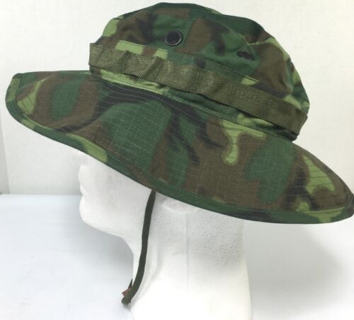 ERDL Camouflage Boonie Hat- Genuine- 7 1/8 MINT
