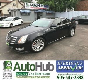 2010 Cadillac CTS AWD-LEATHER-SUNROOF
