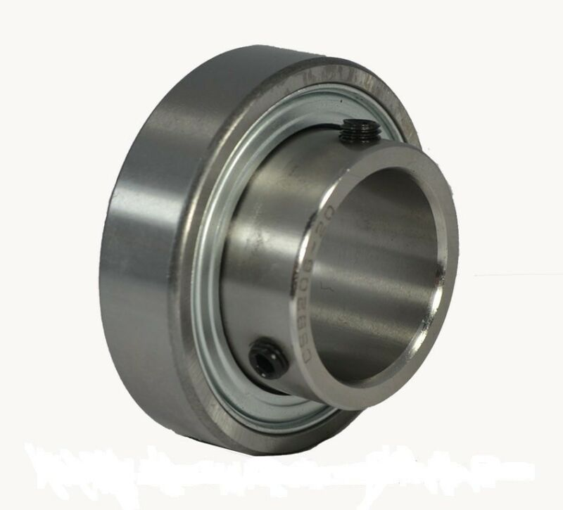 "CSB202-10 5/8"" Bore Insert Bearing with Set Screw Lock 5/8""x40mm"