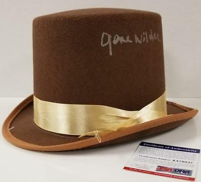 GENE WILDER Signed Willy Wonka Top Hat Auto - Willy Wonka Hat