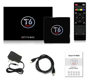 T6 Android Box 6.0 Fully programed Android
