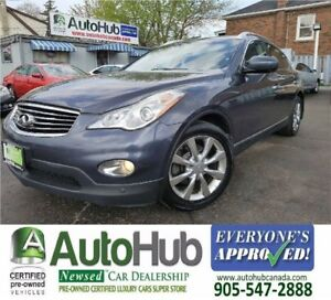 2010 Infiniti EX35 AWD-LEATHER-ROOF-NAVI