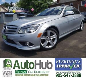 2009 Mercedes-Benz C 300 AWD-LEATHER-SUNROOF
