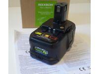 ::: BRAND NEW REEXBON P108 18v 3.0Ah Li-ion battery for Ryobi :::