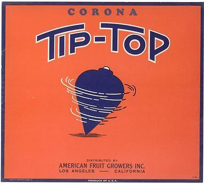 *Original* DOVE Bird of Peace UPLAND OK Fruit Orange Crate Label NOT A COPY!!