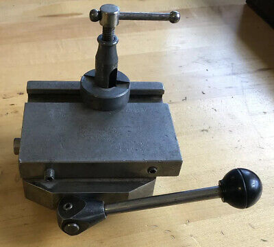 Hardinge Cross Slide Vise Tool Post Holder