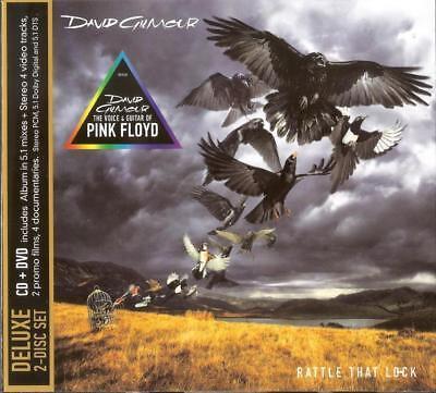 DAVID GILMOUR Rattle That Lock CD + DVD Set in Cardboard Box Sealed Pink Floyd