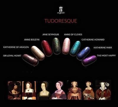 A England Tudoresque Collection Assorted Color Nail Polishes (England Collection)