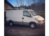 Iveco Daily Van. Non runner 2002