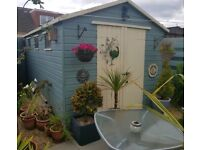 14ft x 8ft Wooden Shed
