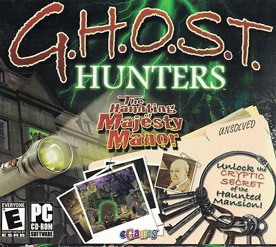 GHOST HUNTERS The Haunting of Majesty Manor PC Game 2007 Aisle 5 (Ghost Hunters The Haunting Of Majesty Manor)