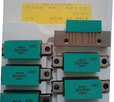 Usado, 2 Pieza BGY84H Amplificador Transistores Philips (Vintage) segunda mano  Embacar hacia Mexico