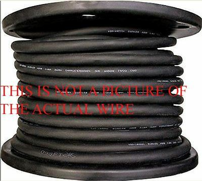 New 50 103 Sj Sjoow Black Rubber Cord Extension Wire