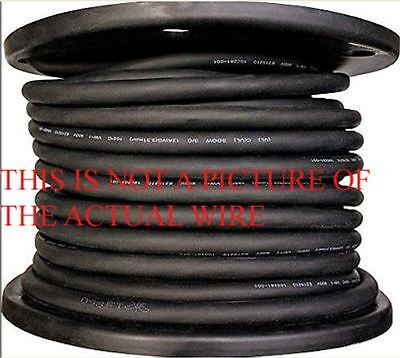 NEW 50' 10/3 SOOW SO SOO  BLACK RUBBER CORD EXTENSION WIRE