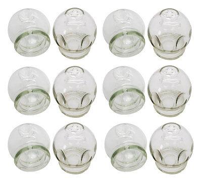 Schröpfgläser aus Glas | Feuer Schröpfen | 6er Set | Ø ca. 4,0cm