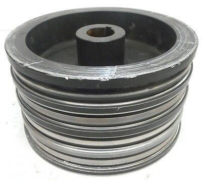 """UNKNOWN BRAND, SPINDLE PULLEY, BORE 1-1/4"""", KEYWAY 1/4"""" , OD 7-1/2"""", ID 6-15/16"""""""