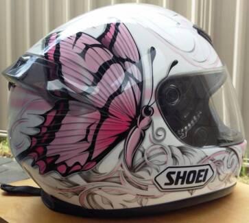 Shoei Helmet XR 1000 Pink Butterfly Size Small