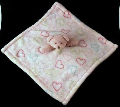 Hearty Carters Pink Lady Bug Lovey Security Blanket Soft Thick Euc Nursery Bedding Blankets & Throws
