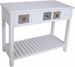 Console table console table de cuisine buffet table shabby for Table console pour cuisine