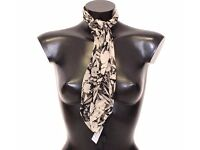D&G MULTICOLOR FLORAL SILK SQUARE SCARF DOLCE GABBANA VALENTINES GIFT