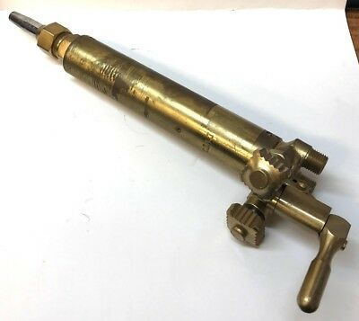 Unknown Brand Long Barrel Machine Track Cutting Torch Head 7 Barrel