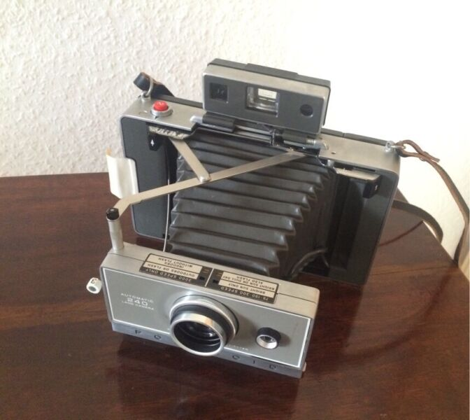 polaroid land camera in baden w rttemberg bahlingen ebay kleinanzeigen. Black Bedroom Furniture Sets. Home Design Ideas