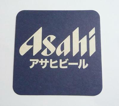 Japan ASAHI Beer Mat / Coaster from JAPAN great value Blue White Rare Asia 2008