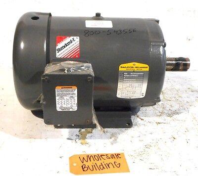 Baldor Industrial Motor M00 98104225-001 M37g813t975h1 3hp1165rpm213t3ph