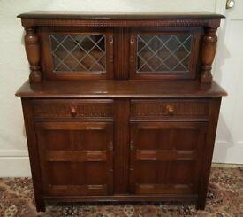 Vintage Solid Oak Old Charm Dresser