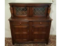Vintage Solid Oak Old Charm Dresser cabinet - Fantastic condition