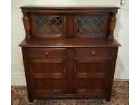 Vintage Solid Oak Old Charm Dresser cabinet - Fantastic condition