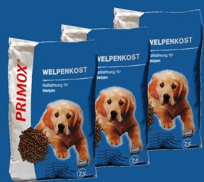 PRIMOX WELPENKOST 3x7,5kg Welpenfutter junge Hunde ohne Konservierungsstoffe